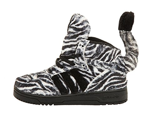 Black White I Jeremy Scott JS adidas Black G95762 White Zebra Kids wxgBfTtqAF