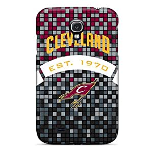 Durable Protector Cases Covers With Cleveland Cavaliers Hot Design For Galaxy S4