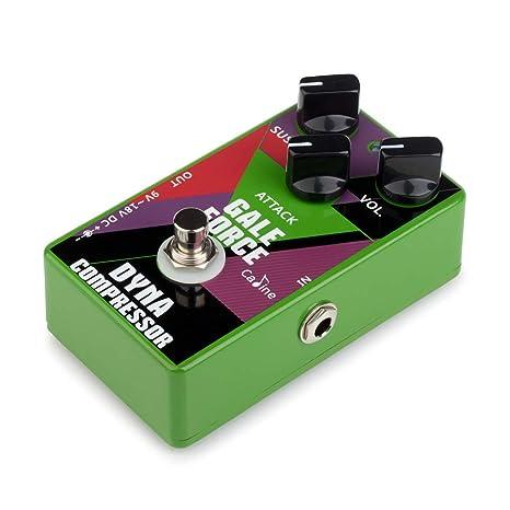 Kalaok CP-52 Compresor de guitarra eléctrica Pedal de efecto ...
