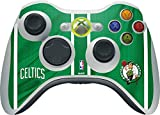 NBA Boston Celtics Xbox 360 Wireless Controller Skin - Boston Celtics Vinyl Decal Skin For Your Xbox 360 Wireless Controller