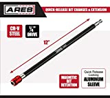 ARES 70207-12-Inch Quick Release Bit Holder - Works