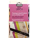 Pebeo 12 x 20ml Matt Discovery Painting On Wood & Plaster Acrylic Paints Set by Pebeo