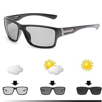 CCGSDJ Marca Gafas De Sol Fotocromáticas Hombres ...