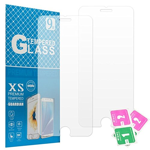 [ 2 Pack ] Glass Screen Protector for Apple iPhone 8 Plus & iPhone 7 Plus, Tempered Glass Screen Protector 5.5 inch