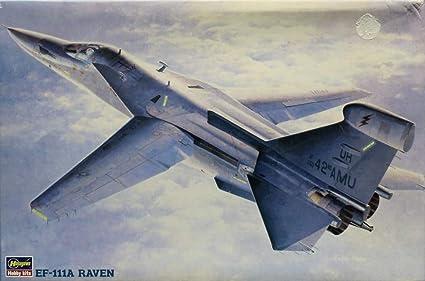 Amazon.com: Hasegawa 1:72 EF-111A Raven - Kit de modelo de ...