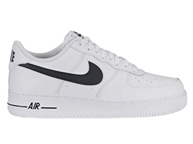 f7ad1c2cc1ad Image Unavailable. Image not available for. Color  Nike Men s Air Force 1  Low White Black Leather Casual Shoes ...