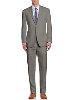 Amazon.com: DTI BB Signature - Traje de lino italiano para ...