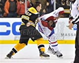 Brad Marchand Boston Bruins Fight Pound P.K Subban 8x10 11x14 16x20 1810 - Size 8x10