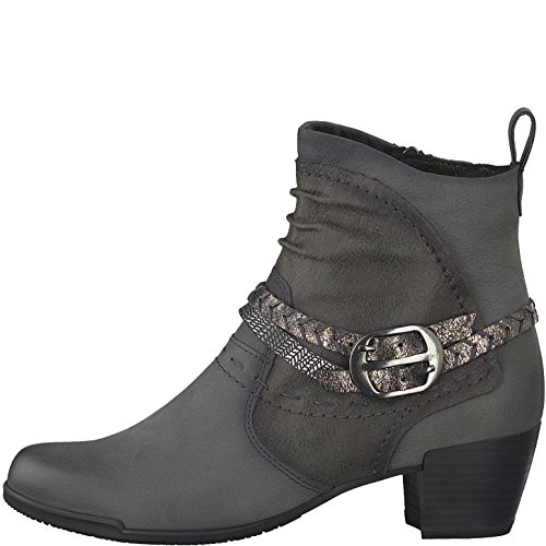 234 29 Tamaris 25358 1 Anthracite Bottes Grau Damen xOqUHw6