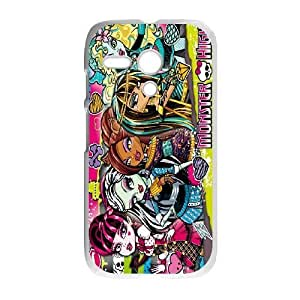 Personalized Durable Cases Motorola Moto G White Phone Case Ieupg Moster High Protection Cover