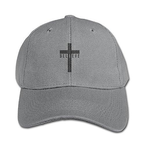 Vintage Logo Flat (2016 Popular I Believe Cross Jesus God Logo Flat Bill Vintage Snapbacks Trucker Hats)