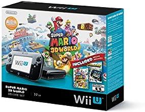 Wii U Deluxe Bundle - Super Mario 3D World & Nintendo Land Edition