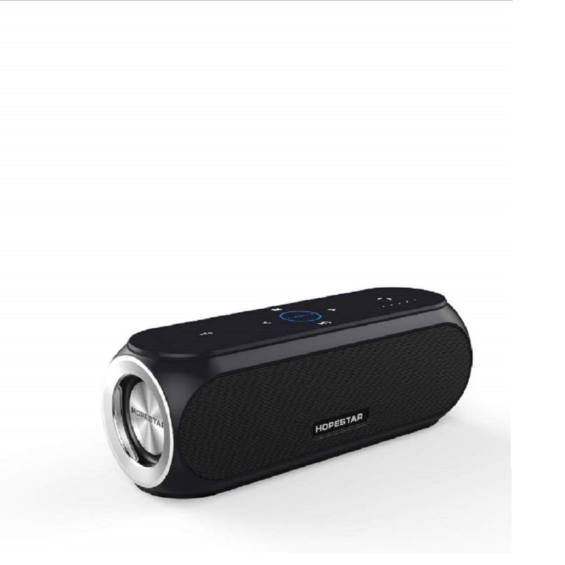 VINCEN スピーカー、ワイヤレススピーカー、ハンズフリーの聴覚、ステレオサウンドFM ポータブルモバイルパワー Bluetoothスピーカー   B07JHNRQR4