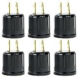 Sunlite E187/CD/6PK Sunlite E187 Plug To Medium Socket Adapter