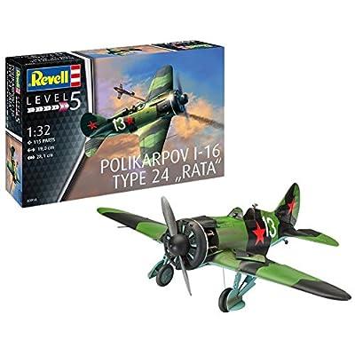 "Revell 03914 Rata Polikarpov I-16 Type 24"" Rat, 1: 32 Scale: Toys & Games"