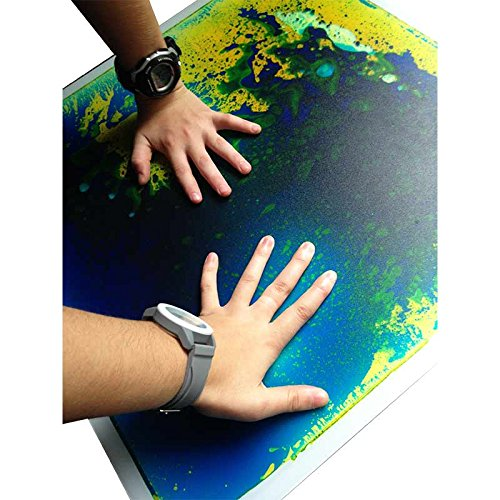 """Gel Floor Tiles for Visual Processing and Sensory Stimulation in Kids with ADHD, SPD and Autism – 20"""" x 20"""" (Floor Spd)"""