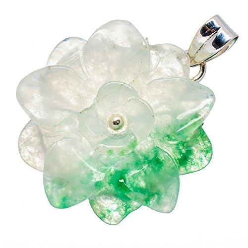 Jade Flower Flower Pendant 2