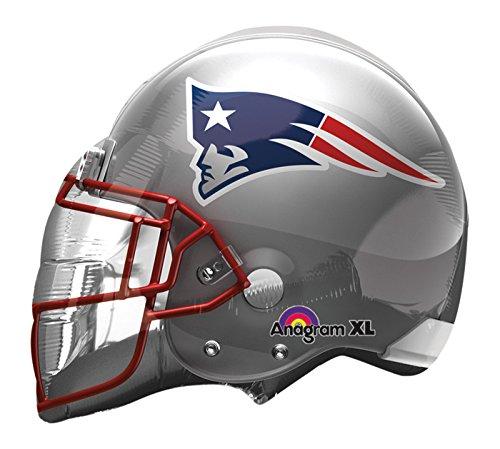- Mylar, New England Patriots, NFL Balloon, Football Helmet, Superbowl, Set of 3