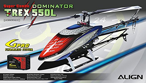 ALIGN RH55E09X T-REX 550L DOMINATOR SUPER COMBO VEHICLE