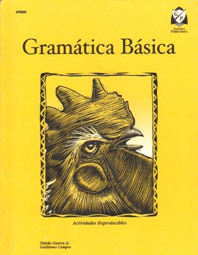 Gramatica Basica Actividades Reproducibles