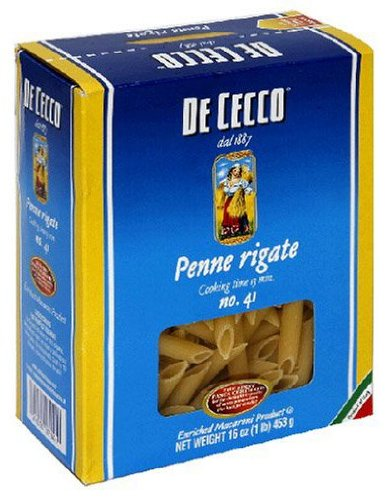 De Cecco 41 Penne Rigate -- 16 oz