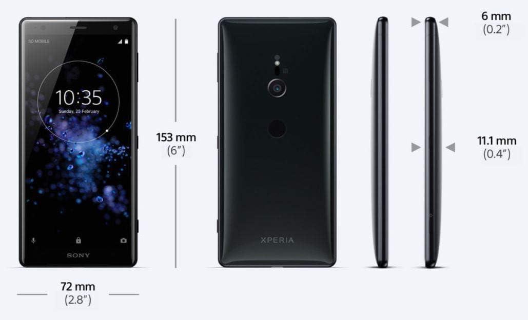 Sony Xperia XZ2 - Smartphone de 5.7