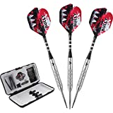 Viper Bully 80% Tungsten Steel Tip Darts with Storage/Travel Case