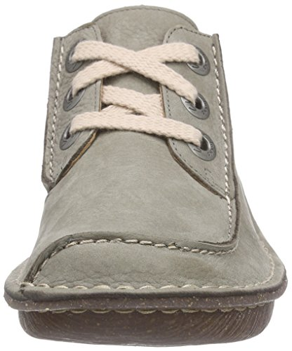 Funny Scarpe Verde Stringate Clarks Basse sage Nubuck Dream Brogue Donna a1cq4cd
