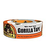 Gorilla 6025001 Duct Tape, 1.88'' x 30 yd, White