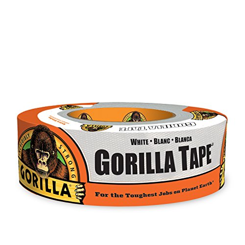 Gorilla 6025001 Duct Tape, 1.88'' x 30 yd, White by Gorilla