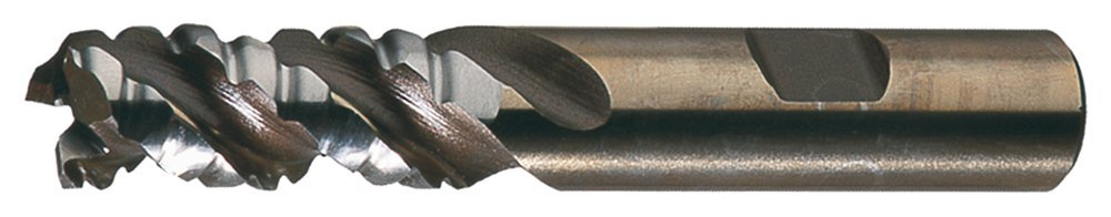 Cleveland C40036 PM-538R Powder Metal Special Profile Roughing End Mill, 3F SE CC