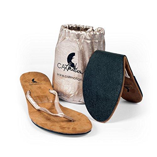 Faltbare Schuhe für die Handtasche CatMotion, Damen-Flip Flops, Faltbare Flip Flops, Schuhe für die Tasche, mehrere Farben