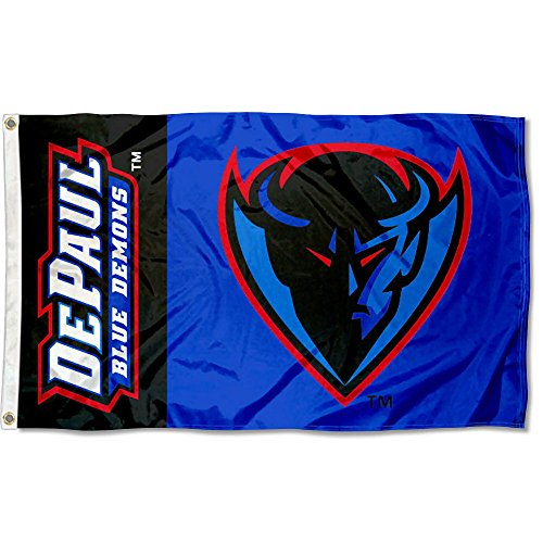 College Flags and Banners Co. DePaul University Flag Large 3x5