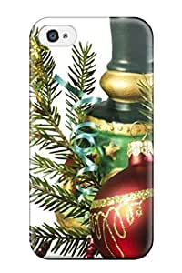 New Style JakeNC Hard Case Cover For Iphone 4/4s- Christmas