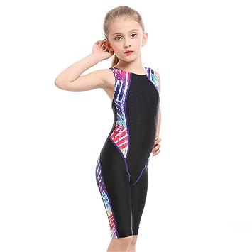Gutscheincodes viele modisch bis zu 80% sparen Kinder Mädchen Badeanzug Mädchen Badeanzug ärmellose Rash ...