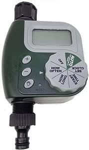 مؤقت صنبور الخرطوم، جهاز تحكم رقمي بمؤقت تقطر الري تلقائي، أخضر