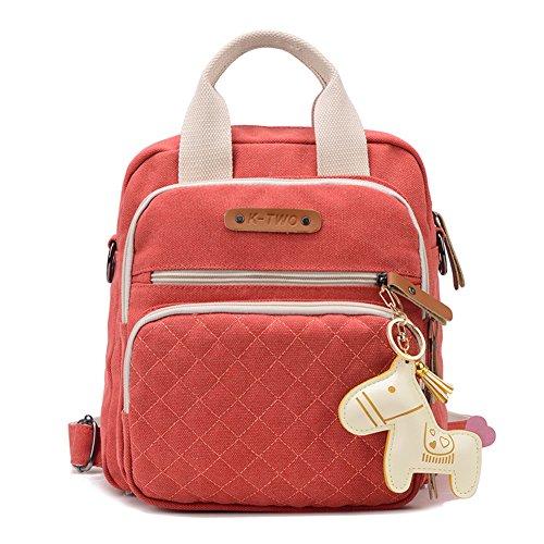 bolso mochila A Cuadrado paquete bolsa la c Pequeño Bolsa Bandolera fqxp11
