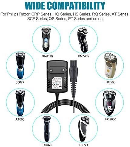 SoulBay 15V 360mA fuente de alimentación Cargador para afeitadora ...