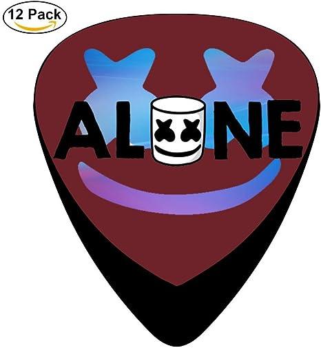 Alone Marsh DJ- Púas de guitarra personalizadas de celuloide para ...
