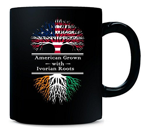 American Grown With Ivorian Roots Great Gifts Cote d'Ivoire - Mug (Cote Divoire Mug)