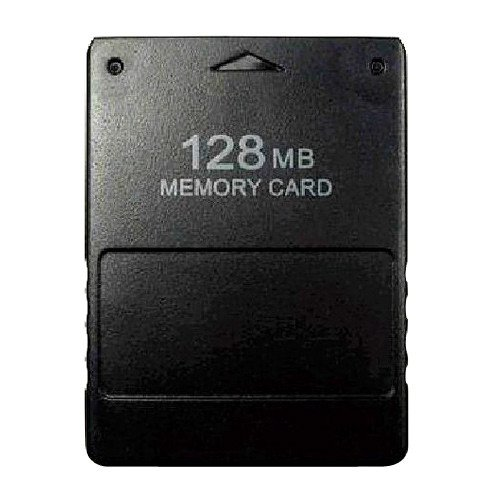 Buyee 128MB Memory Card for Sony Playstation 2