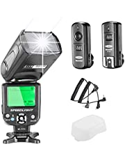 Neewer NW-562 E-TTL Flash Speedlite Kit for Canon DSLR Camera,Kit Include:(1) NW562C Flash+(1) FC-16 2.4Ghz Wireless Trigger(1 Transmitter+1 Receiver)