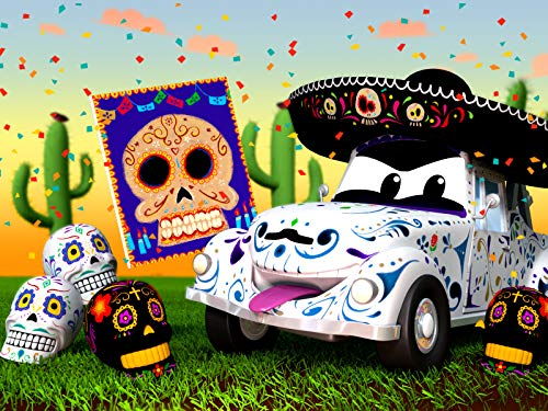 Dias de Los Muertos/The Pinata catches Fire -