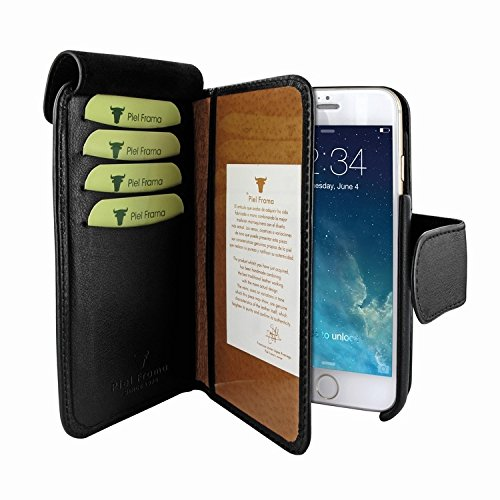 Piel Frama 678 Black Leather Wallet for Apple iPhone 6 / 6S / 7 / 8 by Piel Frama (Image #2)