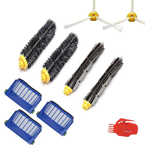 Techypro Part kit for iRobot Roomba 585 595 600 620 650 Series Robotic Vacuums Cleaner Replenishment]()