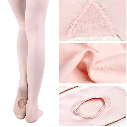 WELOVE Ballett Slipper Schuhe Pointe Canvas Split Sohle Praxis Ballett Tanzen Gymnastik Schuhe Ballett Flache Slipper Yoga Schuhe Pink2