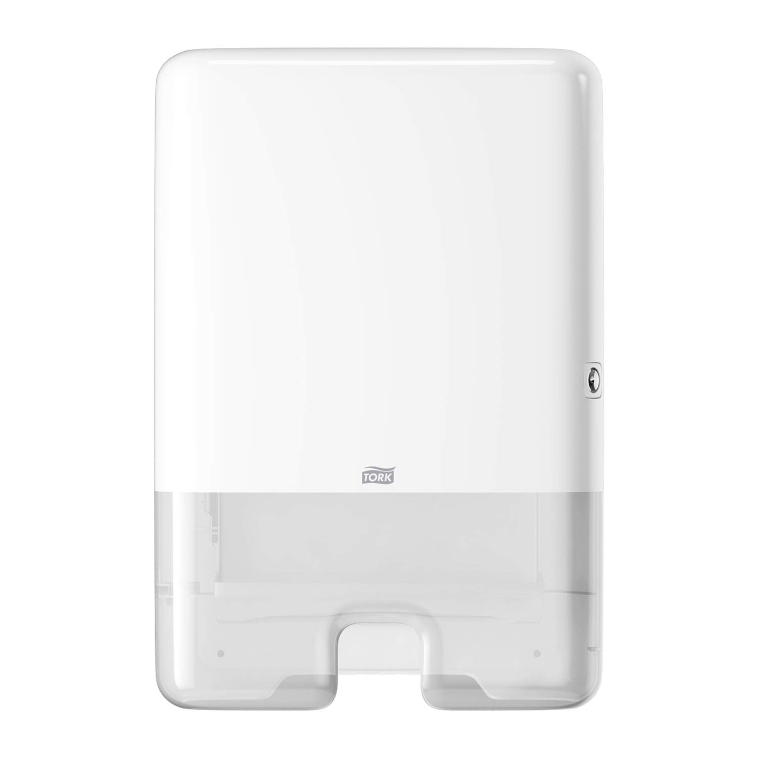 Tork Elevation Xpress Paper Towel Dispenser H2, Elevation Design - Multifold Hand Towel Dispenser 552020, Slim One-at-a-time Dispensing, White