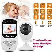 Dekugaa Baby Monitor 2.4GHz Wireless Video Digital Baby Camera with 1000ft Range Transmission Night Vision 2-Way Talk VOX Temperature Sensor and Lullabies