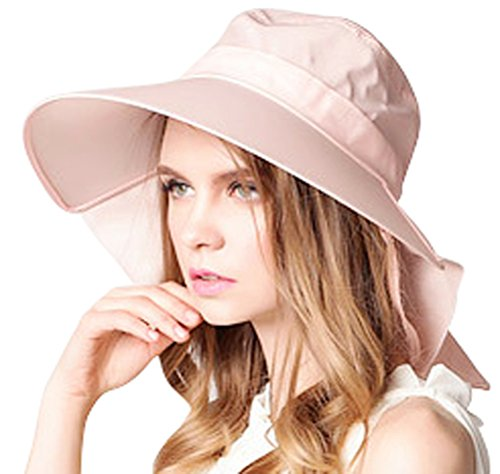 Bienvenu UV Sun Protect Summer Beach Wide Large Big Brim Hat Visor