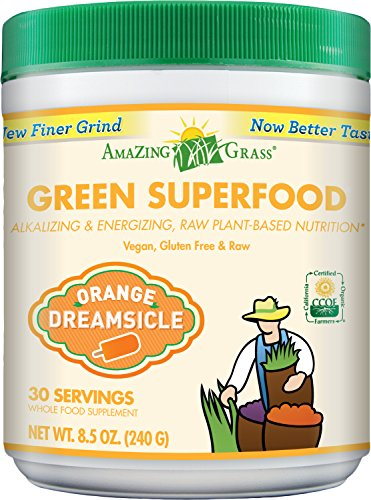 Amazing Grass Green Superfood Orange Dreamsicle, 30 Servings